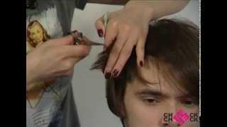 Мужские стрижки.  Обучение для парикмахеров.