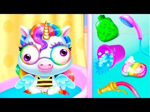 Слайм для милой пони | Играем и ухаживаем за пони в деткой игре