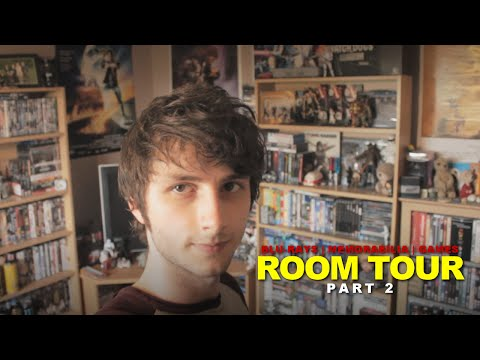 Man Cave Room Tour (2016) | PART 2 - Blu-Ray / Memorabilia / Games Collection