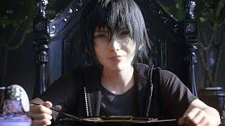 Final Fantasy XV Platinum Demo Gameplay Full Walkthrough (Final Fantasy 15)