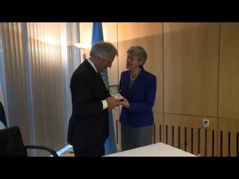 President of Eastern Republic of Uruguay visits UNESCO