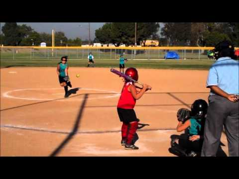 Fastpitch 8U Softball.