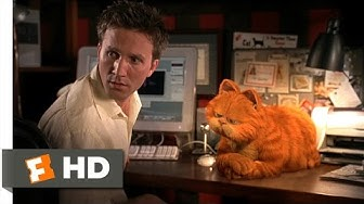 Garfield (1/5) Movie CLIP - Cat and Mouse (2004) HD