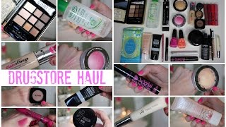New Drugstore Makeup Haul 2015 - Elf, Hard Candy, Nyx, Essence, Nyc, & More!