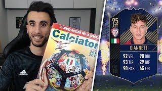 GIANNETTI TOTY!! 😱 | APERTURA BUSTINE ALBUM CALCIATORI PANINI 2017 2018 SU FIFA 18 EP.11
