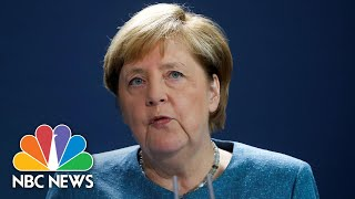 Merkel: Navalny Poisoned With 'Chemical Nerve Agent From The Novichok Group'   NBC News NOW