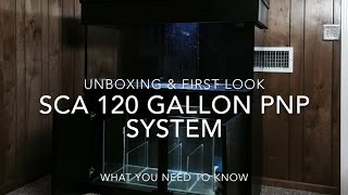 SCA 120 Gallon Reef Tank | EP.1 | Unboxing & First Look