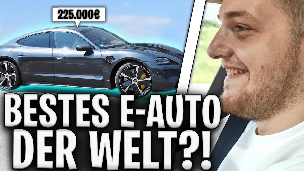🔥🤯761 PS RACE-START mit FREUNDIN und BRUDER! | Porsche Taycan Turbo S neues TRAUMAUTO?