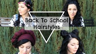 BACK TO SCHOOL HAIRSTYLES! ❤ Boho/Grunge vibes