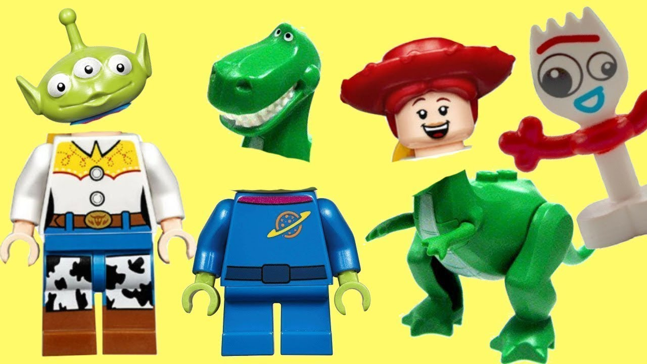 Wrong Heads Magic Play Toy Story 4 Lego Minifigure Game