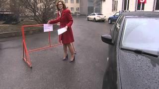 Смотреть видео  если незаконно ставят машины во дворе