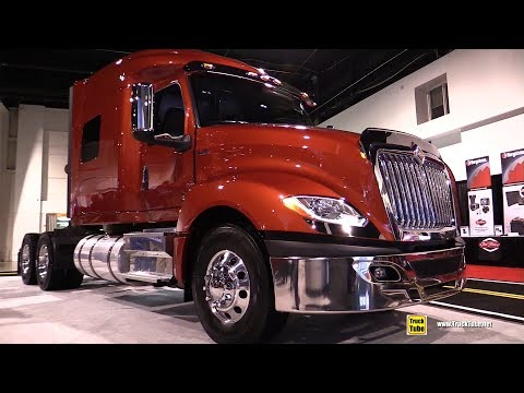 2019 International LT625 Sleeper Truck - Exterior and Interior Walkaround - 2018 Truckworld Toronto