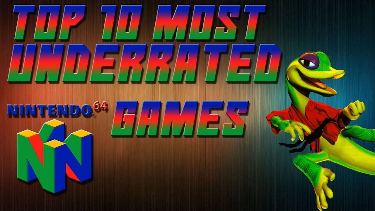 Top 10 Most Underrated N64 Games Youtube
