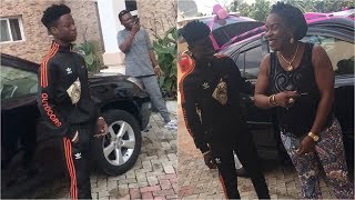 Rema39s Mum In Tears As He Surprised Her With A Car