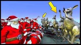 KANGAROO ARMY! New Unit Kangaroo - Can We Build A Kangaroo Tower? - Ultimate Epic Battle Simulator