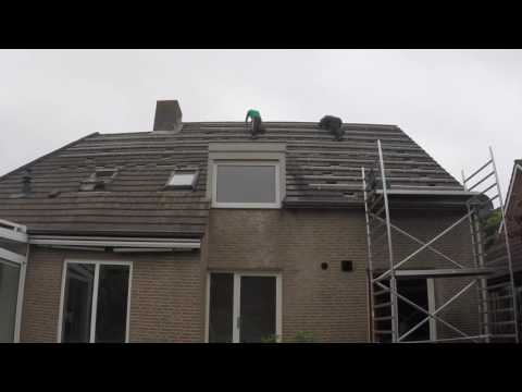 Preparations for 37 solar panels on my home by EnergiePerspectief
