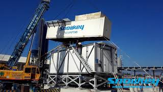 Snowkey Concrete Cooling System Ice Plant 3-Installation