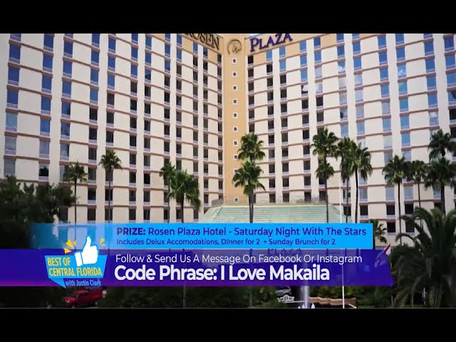 """Rosen Plaza """"Best Central Florida - Saturday Night with the Stars Giveaway"""""""
