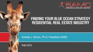 Blue Ocean Strategy - Real Estate