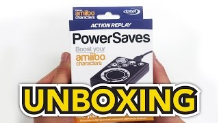 Amiibos - Action Replay - Power Saves Unboxing!!
