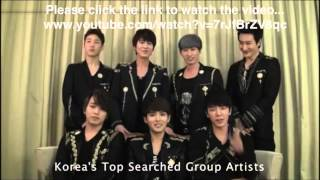Super Junior & Super Junior M Yahoo Buzz Awards 2012