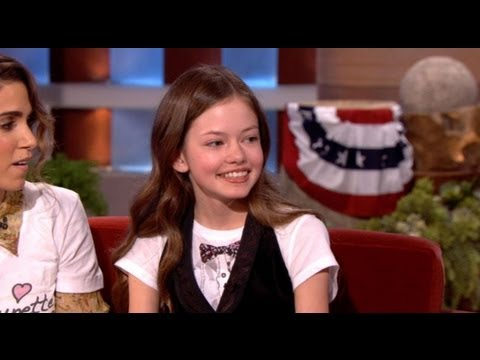 Mackenzie Foy Talks Renesmee on Ellen!