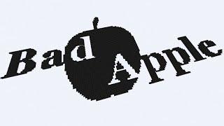 【Minecraft】音ブロックでBadApple!!の影絵にキャラ毎のメロ(ryを演奏してみた