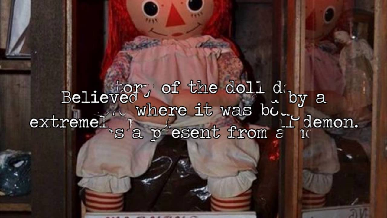 Real Life Mystery Annabelle YouTube