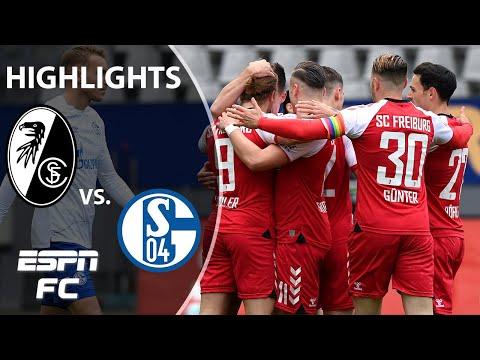 Freiburg cruises to 4-0 win vs. struggling Schalke | ESPN FC Bundesliga Highlights