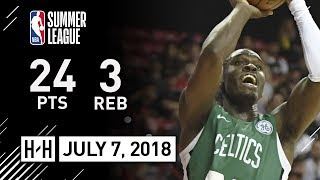 Jabari Bird Full Highlights vs Nuggets (2018.07.07) NBA Summer League - 24 Pts, 3 Reb