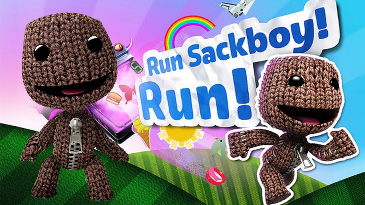 iphone and ipad game run sack boy run review and gameplay youtube