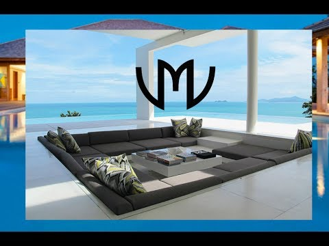 Wealthy lifestyle - compilation of modern and contemporary houses with ocean view