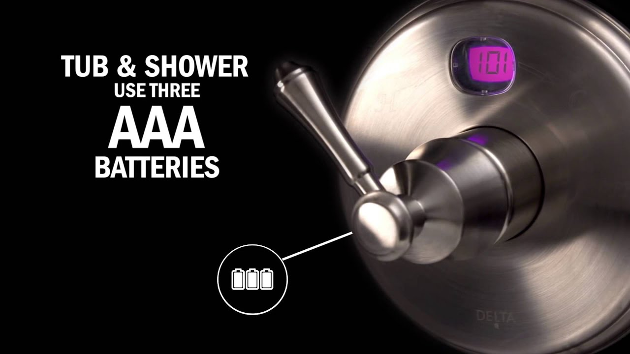 Temp2O™ Digital Shower Temperature Display Overview by Delta Faucet ...