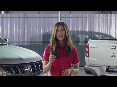 Triton VGT AT GL Walk around with Malaysia's Drift Queen, Leona Chin
