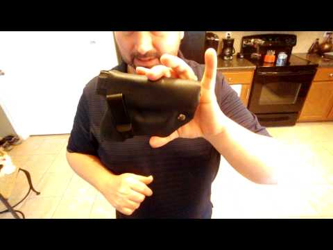 Best DIY Kydex holster for pistol w/ add-on utility light or laser pointer addition.