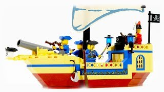 Enlighten Brick 304 pirate ship Pearl - Speed Build