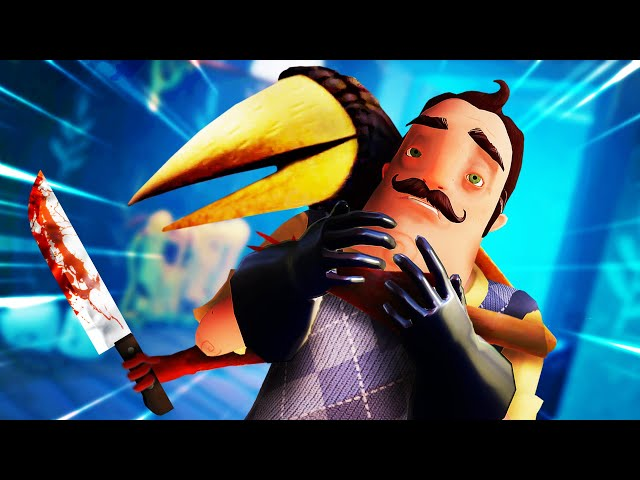 THIS NEW DEMON is OUT TO KILL THE NEIGHBOR!!?! (Hello Neighbor 2)