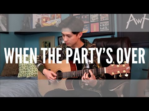When the Party's Over - Billie Eilish - Cover (fingerstyle guitar) Now on Spotify