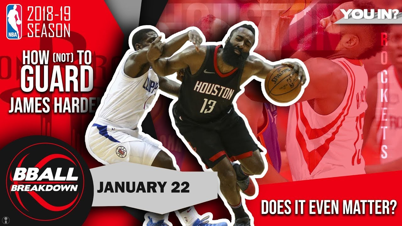 a08ac1b0e730 How (Not) To Defend James Harden - YouTube