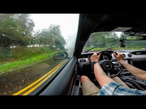 Driving a 2016 Mustang GT from Kona to Hilo (Hawaii)