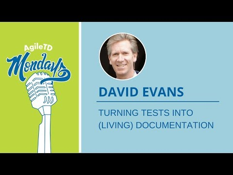 David Evans: Turning Tests into (Living) Documentation