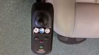 Unlocking Joystick on Power wheelchair VSI