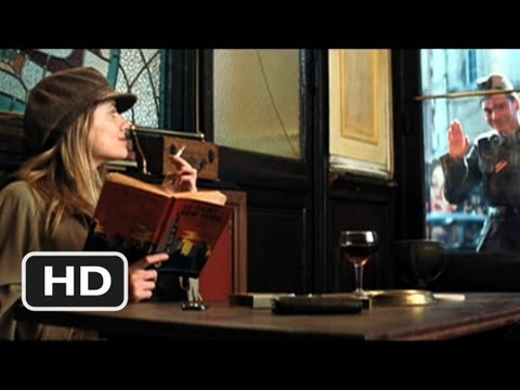 Inglourious Basterds 7 Movie   Shosanna and Fredrick at the Cafe 2009 HD