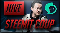 STEEM Revolt - HIVE Community Coup Against Justin Sun (40% Pump!)