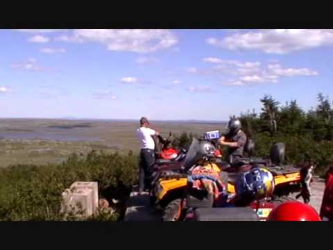 ATV expedition to the Gaff Topsails, Newfoundland and Labrador (by Peter Bull, Newfoundland)
