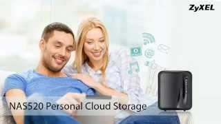 ZyXEL NAS520 Personal Cloud Storage