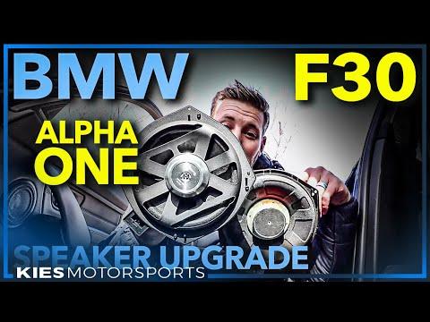 F30 BMW BimmerTech Alpha One Premium Speaker Upgrade Installation Guide