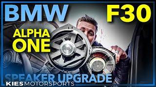 F30 BMW BimmerTech Alpha One Premium Speaker Upgrade Installation Guide (F15, F10, F80 and More!)