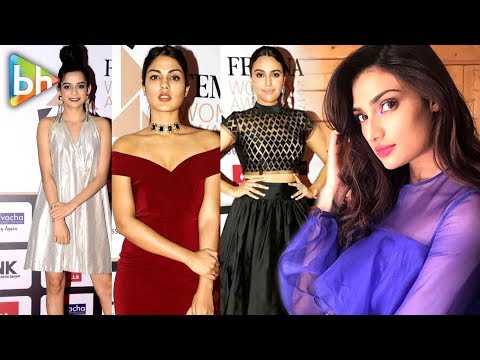 Athiya Shetty, Mithila Palkar, Rhea Chakraborty, Swara Bhaskar Many More At Femina Women Awards 2017