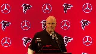 Dan Quinn speaking on the Loss to the Rams